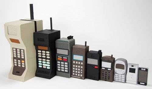 Evolução dos Telefones Celulares