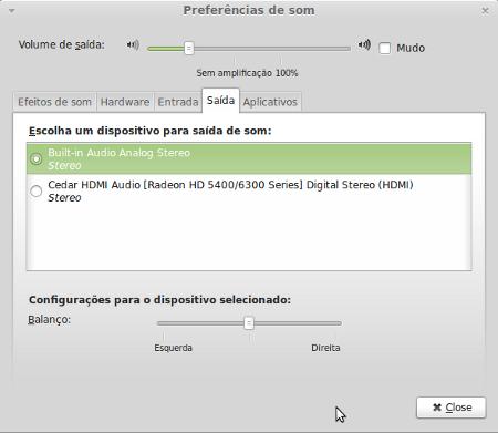 Problema ao tocar músicas e vídeos no Linux Mint 13 Maya