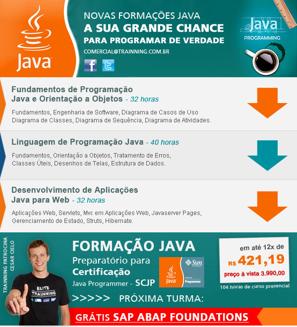 Curso de Java na Trainning