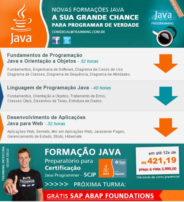 Curso de Java na Trainning